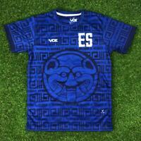 "El Salvador Short Sleeve Jersey "" Cuscatlecos "" Camisa Futbol Soccer"