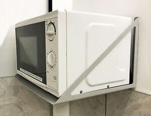 Microwave Wall Mounting Bracket Shelf Kitchen Storage Tea Room Microwave Holder