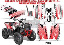 AMR Racing DECORO GRAPHIC KIT ATV POLARIS interferenzaNverso/Trailblazer TECK B