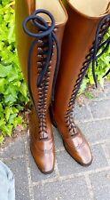 Hunter/Jumper Elegant style full Front Laces Horse Riding Dress Boot UK 3-12