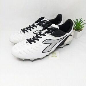 Diadora men's Maracana L FG Soccer cleats 8 white