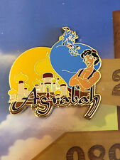 Disney WDW Love Is An Adventure Go The Distance Agrabah Aladdin Pin LE 1100