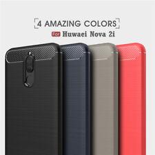 Shockproof Heavy Duty Rugged Carbon Fiber Case Cover For Huawei Nova 2i