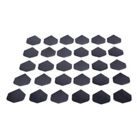 30 Pcs/lot High Quality Simple Pure Black Dart Flights for Outdoor Sports SE
