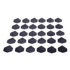 30x /lot alta calidad simple puro negro DART vuelos para deportes al aire libreS