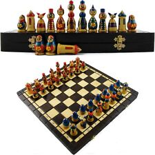 Chess Board Game - Wooden Chess Set