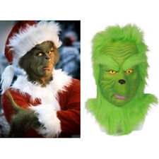 Newest The Grinch Mask How the Grinch Stole Christmas Full Head Cosplay Helmet