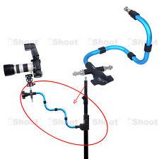 Kameraschiene Blitzhalter Auslegerarm Gelenkarm für Manfrotto MA050A Snake Arm