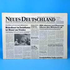 DDR Neues Deutschland 05.01.1989 Januar Zum Geburtstag Hochzeitstag 29. 30. 31.
