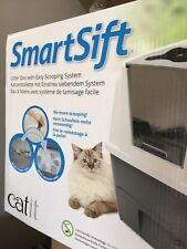 Catit Jumbo Hooded Cat Litter Box With Easy Scooping System. Cleaned/Sanitized