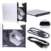 USB 3.0 external Portable Media Blu-ray Combo DVD/CD burner RW Drive PC Laptop