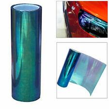 30x120cm CVinyl hameleon Blue Car Truck Headlight Tail Fog Lights Tint Film JI1
