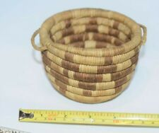 Small Antique Hopi Indian 2nd Mesa Coi 00006000 l Basket Native American Basketry