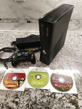 Microsoft Xbox 360 S 250GB with 3 Family Games Bundle