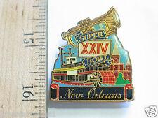 Super Bowl XX1V Pin , New Orealns NFL Pin Badge (#53)