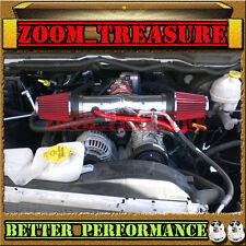 RED CHF DUAL 2004-2007/04-07 DODGE DAKOTA/DURANGO 4.7L V8 TWIN AIR INTAKE KIT
