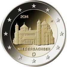 2 EURO *** Allemagne 2014 Duitsland *** Michaeliskirche Niedersachsen  ADFGJ !!!