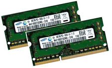 2x 4gb 8gb ddr3 1333 RAM Acer travelmate 8573tg Samsung pc3-10600s