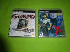 Empty Replacement Cases!  Grandia  -  Xenogears   Playstation PS1 PSX PS2 PS3