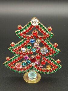 B14 Christmas tree, Christmas decoration,Czech vintage, Gablonz, Weihnachtsbaum