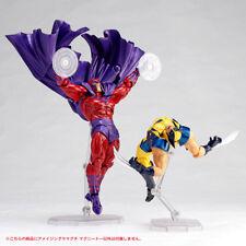 KAIYODO REVOLTECH Amazing Yamaguchi 005 006 Magneto Wolverine X-MEN 2 Figure