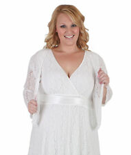 Plus Size Solid Bolero & Shrug for Women