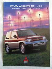 Mitsubishi Pajero io brochure Apr 1999 Australian market