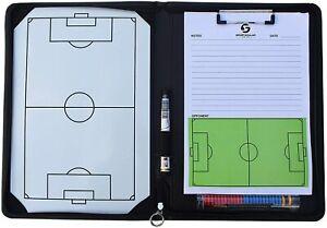 Coach-Mappe inkl. Taktiktafel und weiterem Zubehör für den Fußball-Trainer