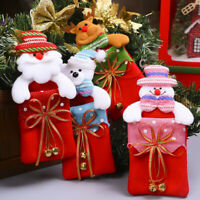 Xmas Decoration Candy Bag Christmas Tree Penfdant Ornaments Supplies Gift Bag AU