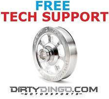 """Dirty Dingo LS Vortec Truck Billet Small Diameter Power Steering Pulley 5"""""""