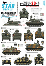 Star Decals 1/35 ZSU-23-4. Middle East and Arabic wars # 35-C1032