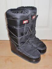 BNIB Hunter mens CHATEL black snow winter skiing boots UK 8-10 EUR 42-44