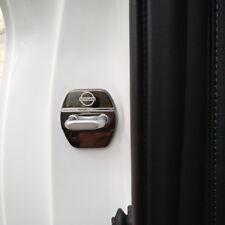 4PCS Serratura Stainsteel Steel Door Lock Cover per Nissan Qashqai j11 x-trail