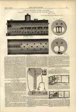 1874 William Jones Bewsey Mill Warrington Tube Boiler Jagn Vacuum Filter Pump