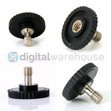 "1/4"" Male to 1/4"" Female Screw Adapter for Tripod Camera Flash Bracket *Uk Stock"