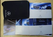 MERCEDES C CLASS OWNERS MANUAL HANDBOOK WALLET + SB 2000-2004 PACK 15848 !