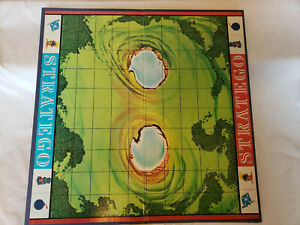 Vintage Stratego Game Replacement Parts Game Board Milton Bradley 1977