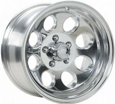 "NEW 15 X 8"" Ion 171 POLISHED Alloy Wheel For JEEP WRANGLER TJ YJ 5 On 4.5"