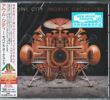 OWL CITY-MOBILE ORCHESTRA-JAPAN CD E78
