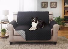 SLIPCOVER REVERSIBLE LOVESEAT PET FURNITURE COUCH PROTECTOR COVER, 1800 COUNT