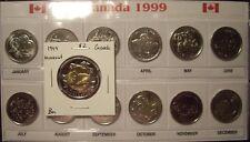 A Canada 1999 25 Cents & $2 Nunavut Commemorative Set - 13 BU Coins