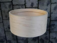 Snare drum shell  Poplar / Maple six ply with 10 ply Maple rings