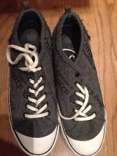 Juicy Couture Gray Flannel Sneakers 10