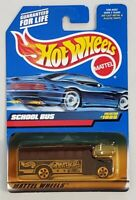 HOT WHEELS SCHOOL BUS DIE-CAST VEHICLE COLLECTOR #1055 MATTEL 1998