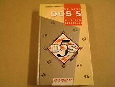 BOEK / DE GIDS - DOS 5