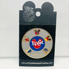 WDW - Epcot Flags Spinner Disney Pin