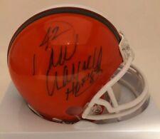 Cleveland Browns Paul Warfield Signed Mini Helmet W/COA