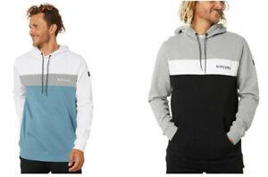 Rip Curl Mens Undertow Panel Hoody Fleece Pullover Jumper Sweatshirt Tops S-3XL