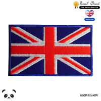 UK National Flag Embroidered Iron On Sew On PatchBadge For Clothes etc
