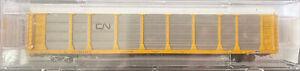 N scale MTL Micro train 89 Tri Level Closed Autorack Canadian National CN 704345